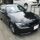 BMW325Mスポーツ E91 オークションへ