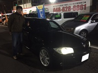 BMW 120i Mスポ 納車完了