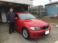 BMW 116i(E87) 納車しました。