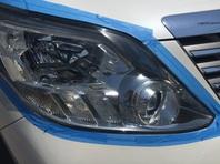 納車準備 トヨタ アルファード240S ヘッドライト編