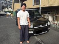 ダイハツ ネイキッドを神奈川県の戸塚まで納車してきました。