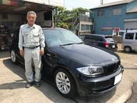 BMW120i 極上品のベージュレザー 納車しました。