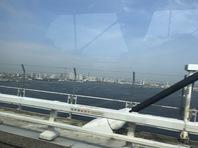 オークション会場 USS横浜へ