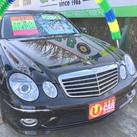 メルセデスベンツ E550 AVG-S 黒 入庫しております!